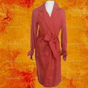 Cole Haan Trench Coat, Sz. 8-10, EUC